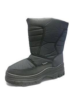SkaDoo Mens Snow Winter Cold Weather Boots,Black,12