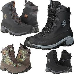 Columbia Boots Men Bugaboot Waterproof Lace-up Snow Boot Win