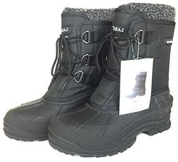 CLIMATE Men's Winter Snow Boots Shoes Waterproof Insulated L