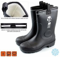 Insulated Waterproof Fur Interior Rubber Sole Winter Snow Co