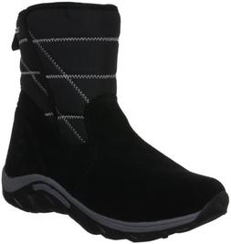Merrell Jungle Moc Quilted Waterproof Boot  ,Black,11 M US L