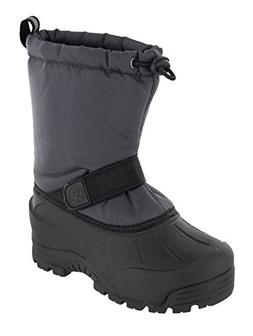 Northside Kid's Frosty Winter Snow Boot, Gray, 11 M US Littl