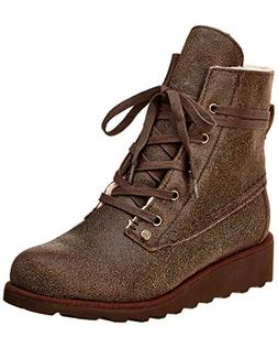 BEARPAW Womens Krista Closed Toe Mid-Calf Boot, Adult, Chest