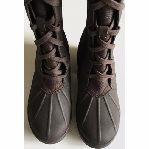 Boots Size Snow Winter Lined Canvas