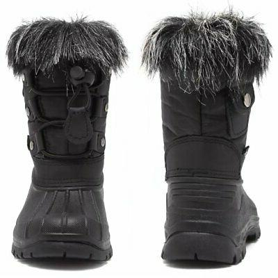Girls' Boots With Fu