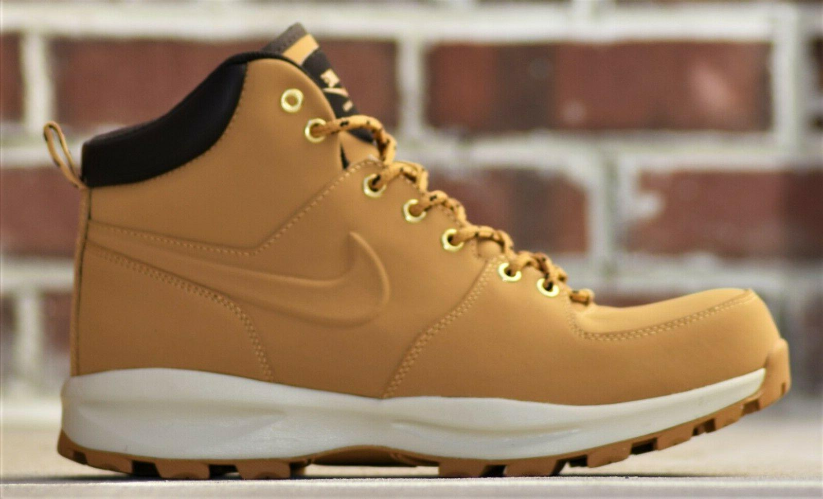 Nike Leather New Wheat Haystack Boots Winter Resistant