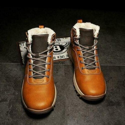 Men's Boots Shoes High Cargo Up Fashion