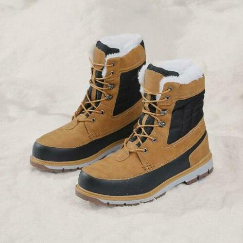 Snow Boot Fur Warm Outdoor Shoes US11