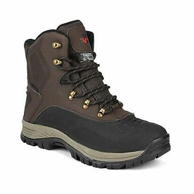 NORTIV 8 Boots Waterproof Outdoor Hiking Winter Ankle