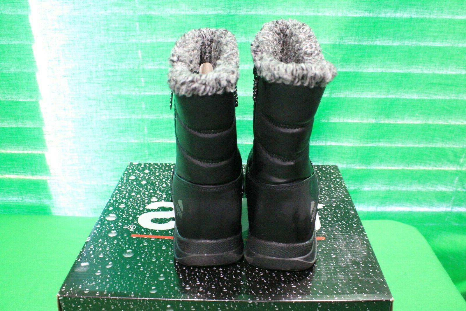 Women's Babbie boots, Winter Boots,lined, Black, Size Med
