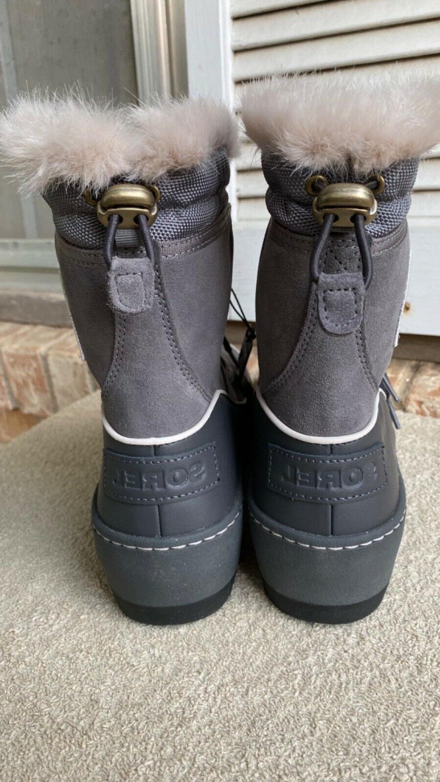 SOREL Boots Tivoli III Grey Waterproof BRAND NEW