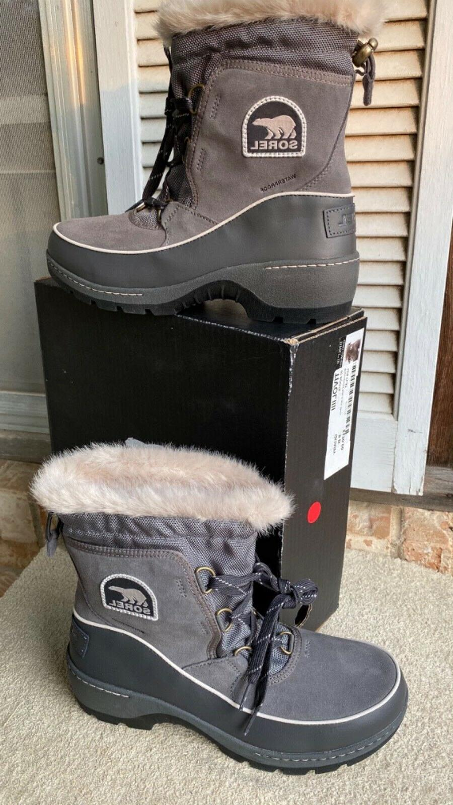 womens snow boots tivoli iii quarry cloud