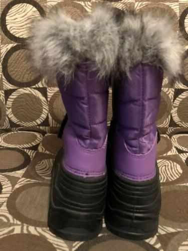Yourh Extreme Snowflake Stompers with Cuff Boots