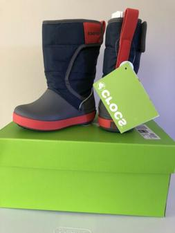 Crocs Lodgepoint Snow Boots. Toddler Size 6.