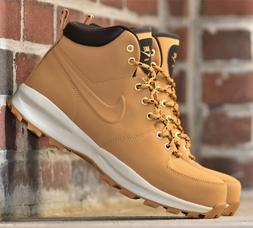 Nike Manoa Leather - New Men's Wheat Haystack Boots Winter S