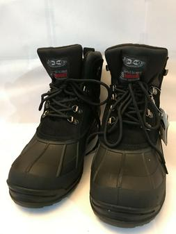 Men's NIB Snow Boots Waterproof Insulated Thermolit Heavy Du