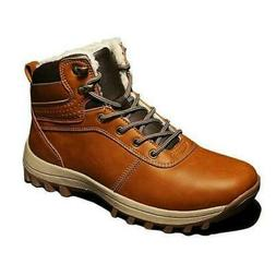 Men's Snow Boots Cotton Shoes High Top Worker Cargo Winter W