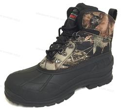 New Men's Winter Snow Boots Camouflage Waterproof Insulated