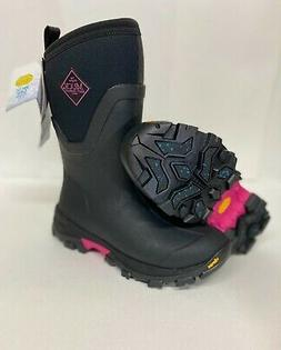 NEW Muck Womens Arctic Ice Mid Snow Winter Boots Pink BLACK