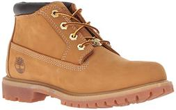 Timberland Women's Nellie Double WP Ankle Boot,Wheat Yellow,