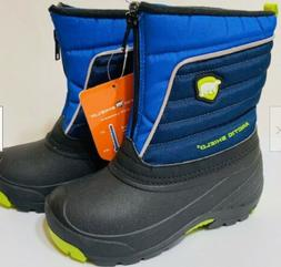NEW Arctic Shield Boys Winter Snow Boots Blue  Size 8