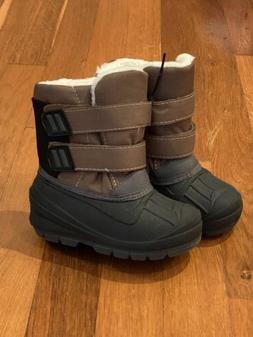 NEW Cat & Jack Toddler Boys Size 7 Water Resistant Lev Snow