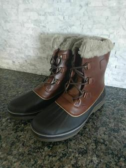 NEW! Globalwin Men's Winter Snow Boots Size 13 Fur Lined
