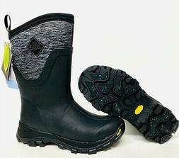 Muck Womens Arctic Ice Mid AG Snow Winter Boots Heather Gray
