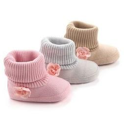 Winter Baby Girl Boys Warm Ankle Boots Booties Infant Toddle