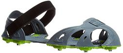STABILicers Run Traction Ice Cleat, Small , Gray/Green