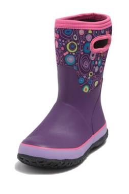 Bogs Snow Boot Insulated Winter Rain Boots Girls size 5 Yout