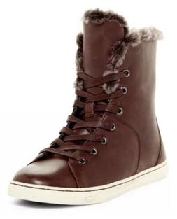 Snow Warm Boots UGG AUSTRALIA CROFT LUXE QUILT LEATHER SHEEP