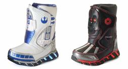 Star Wars Snow Boots Size 7 or 8 Light Up R2-D2 or Darth Vad