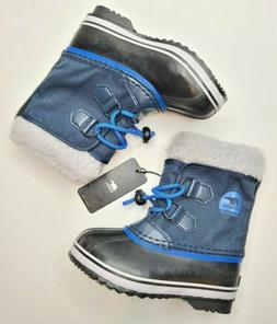 Sorel Toddler Boys Blue Yoot Pac Winter Snow Boots Size 11 N