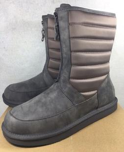 UGG ZAIRE WATER RESISTANT LEATHER SHEEPSKIN Nylon SNOW BOOTS