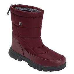 Men and Women's Waterproof Snow Boot Drawstring Cold Weather