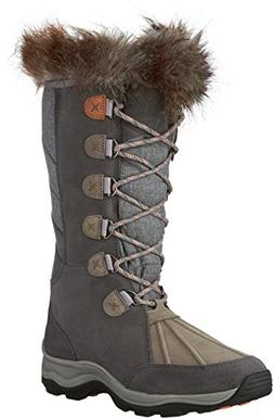 """CLARKS """"Wintry Hi Cold Weather Boots Gray 9.5 M"""