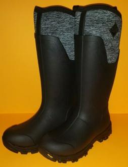 Muck Boot Women's Arctic Ice Tall AG Winter Boots HD3 Black
