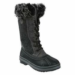 Northside Women's Bishop Snow Boot, Charcoal, 8 M US