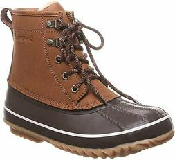 BEARPAW Women's Snow Boots, Brown Hickory Ii 220, Size 7