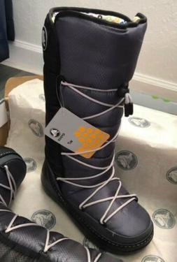 Crocs Women Snow Boots size 7  New in a Box