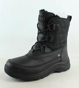 UGG Womens Lachlan Black Snow Boots Size 6.5