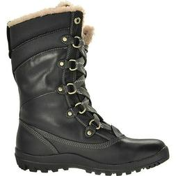 Timberland Womens Size Mount Hope Leather Waterproof Snow Bo