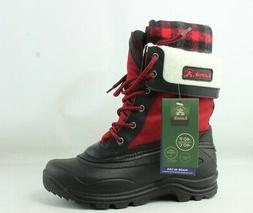 Kamik Womens Sugarloaf-W Red Snow Boots Size 10