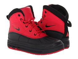 Nike Boys Woodside 2 High Snow Boots Distance Red/Black 4Y