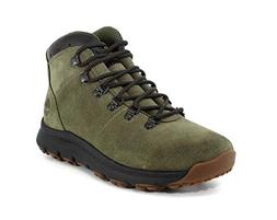Timberland Men's World Hiker Mid Ankle Boot, Dark Green, 9.5