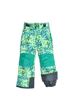 Arctix Youth Reinforced Snow Pants, Small, Freeze Pop Teal